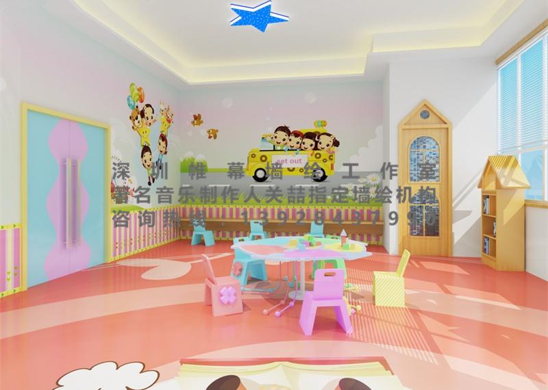 幼儿园墙绘,墙绘公司